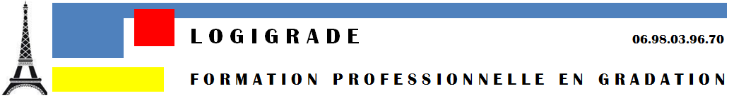 LOGIGRADE. FORMATION EN GRADATION Logo